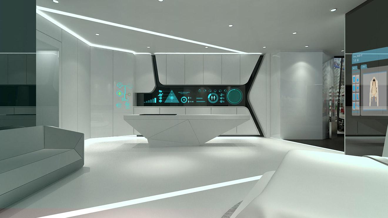 企业展厅设计怎么合理规划休息区