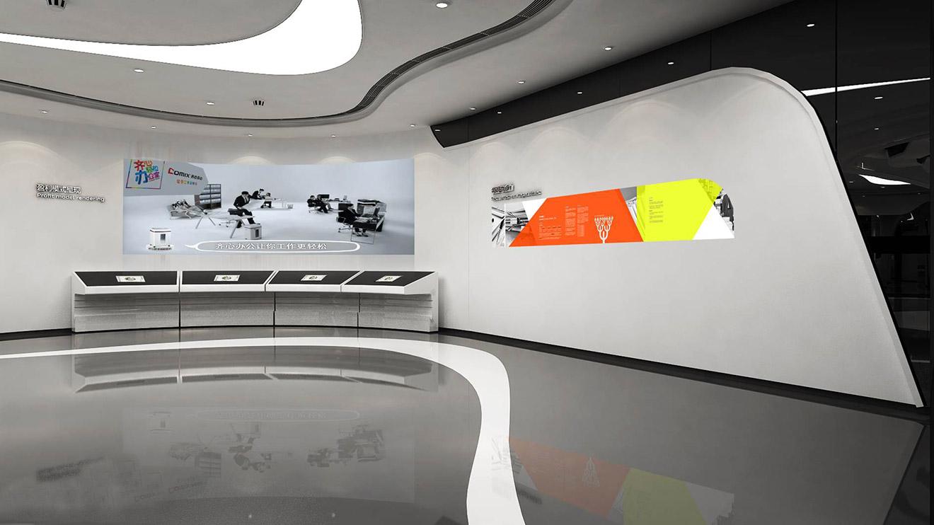 企业展厅设计要注意什么?