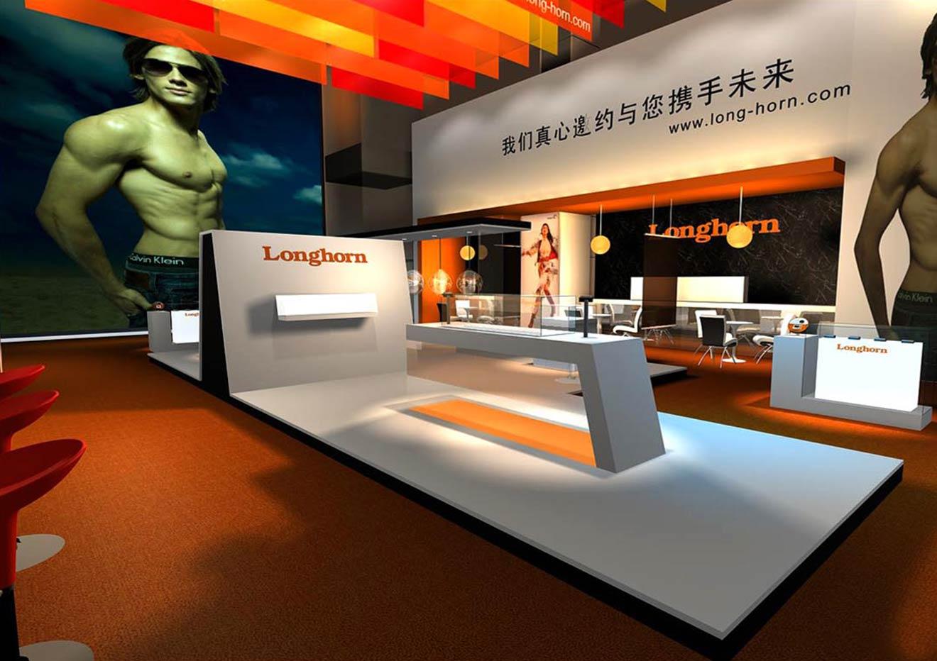 现代展厅设计装修技巧